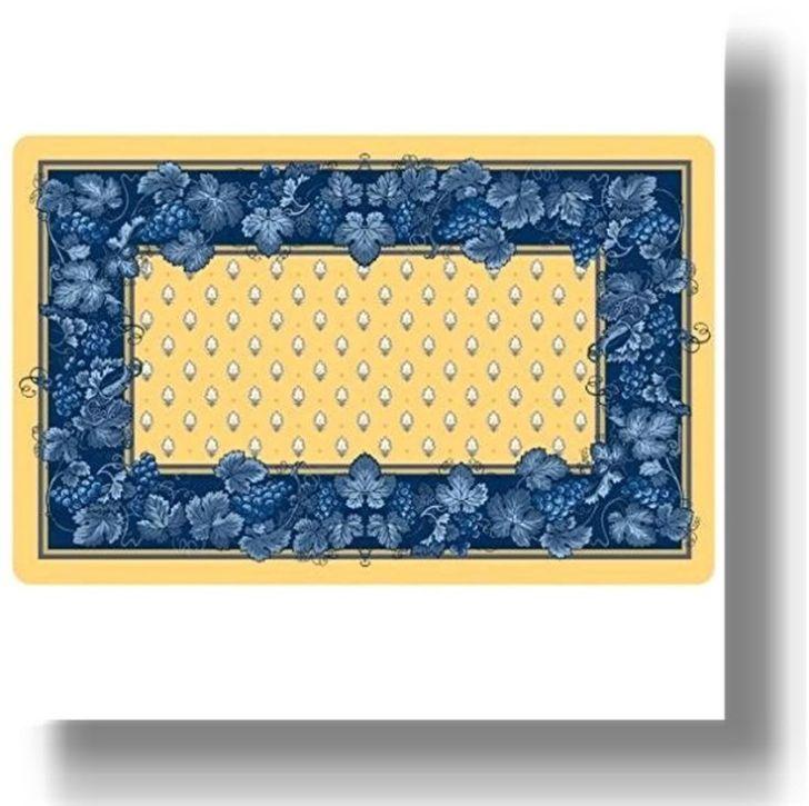 Yellow Blue Kitchen Accessories Mats