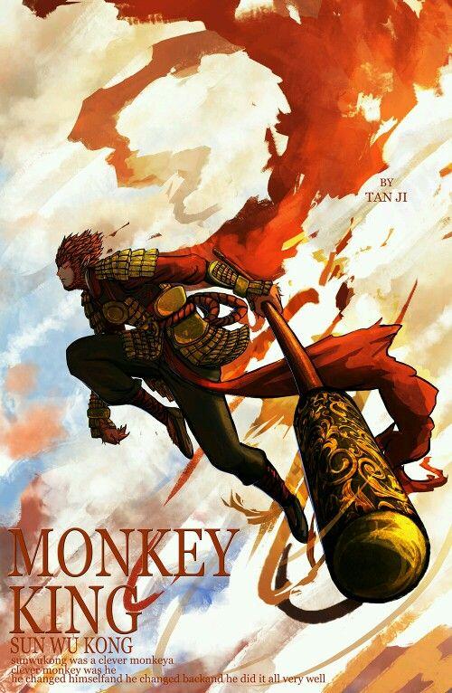 17 Best Ideas About Monkey King On Pinterest Monkey Art