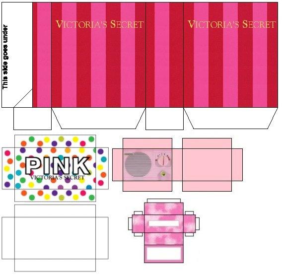 Victoria Secret Barbie House Printables