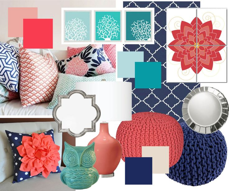 So Weve Finally Decided On MBR Colors Navy Aqua And Coral Its Current And Fun And