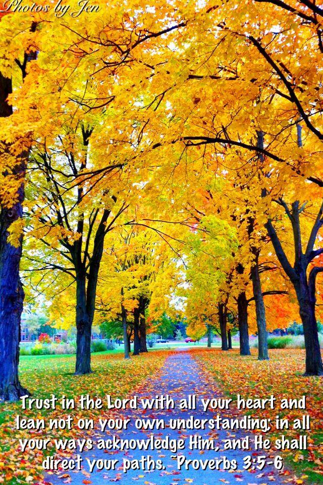 17 Best Images About Autumn Scripture Pics On Pinterest