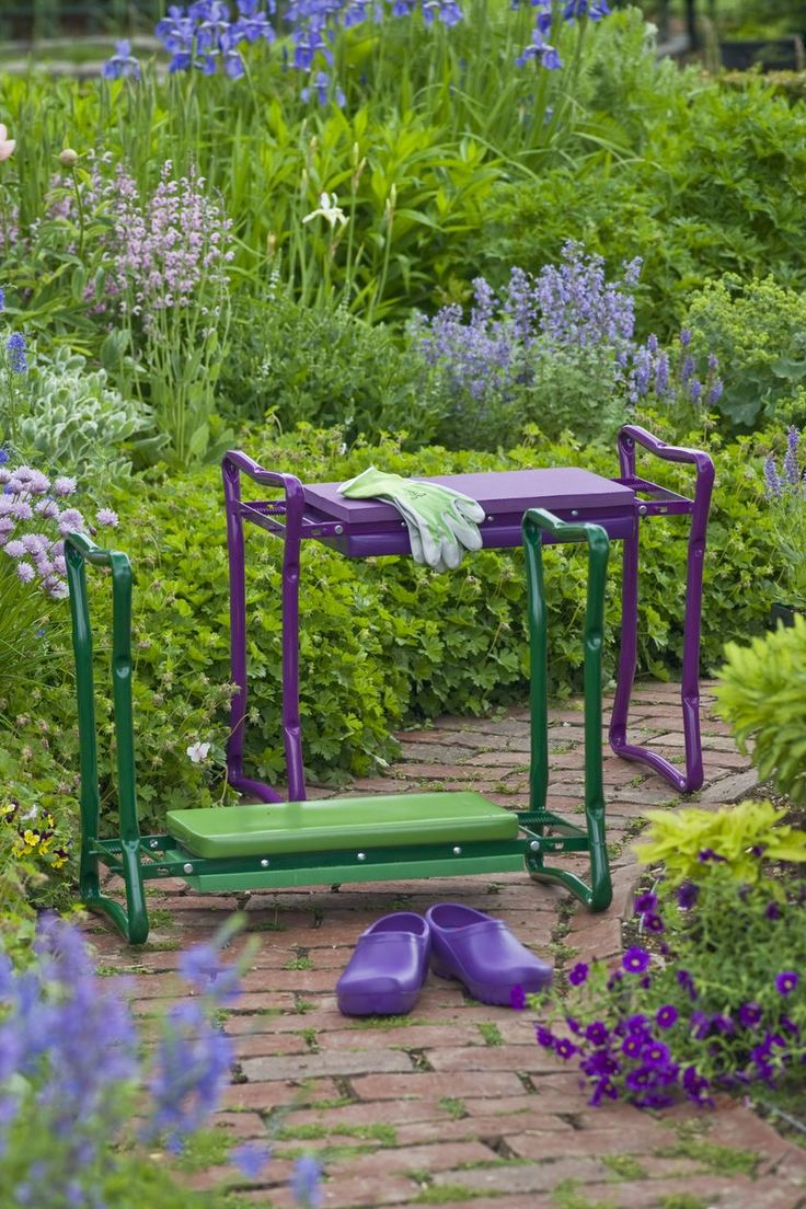 Our Deep Seat Garden Kneeler Offers Sturdy Support For