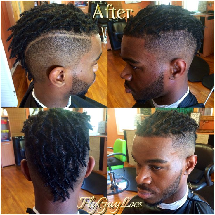 BOOM MY MANS BACK IN THE GAME FRESH LOCS AND FRESH FADE