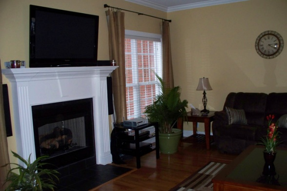 Wall Color Behr Expedition Khaki Color We Chose For The