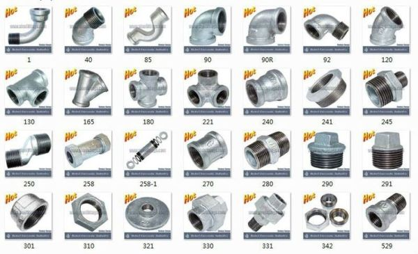 Plumbing G.i. Pipe Fittings Hexagon Nipple 280 - Buy ...