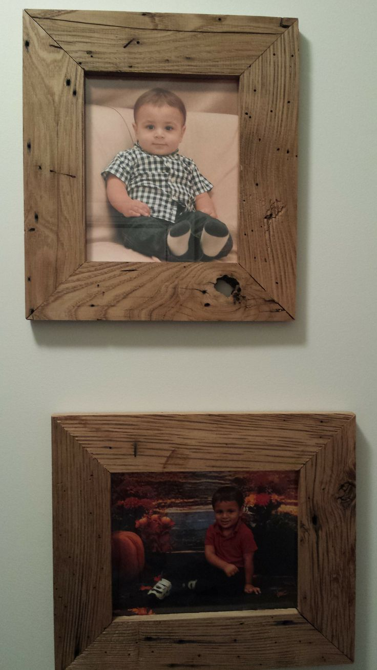 American Wormy Chestnut Picture Frames Things I Ve Made