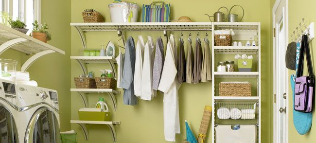 Laundry Room Organization And Ideas From Lowes.Add An
