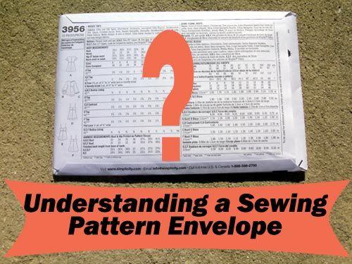 Understanding a Sewing Patt