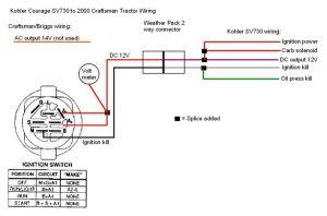 Kohler Engine Electrical Diagram | Craftsman 917270930