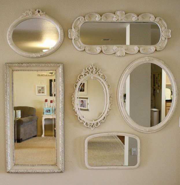 261 best images about wall decor arrangements on pinterest on mirror wall id=23746