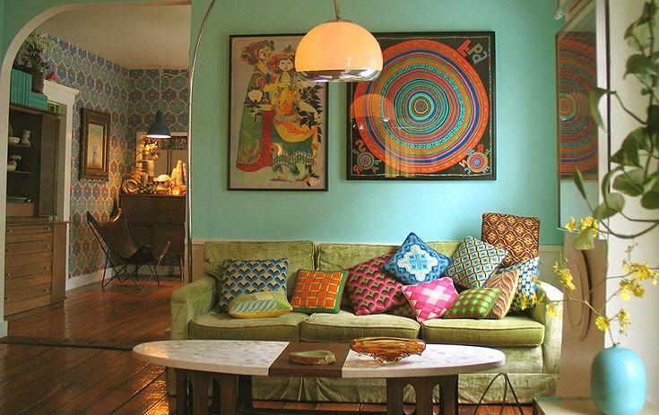 Bohemian Living Room - Google Search