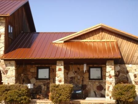 copper colored metal roof for the home pinterest on house paint colors exterior simulator id=66064