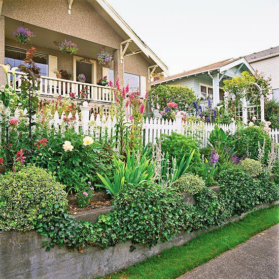 sidewalk garden 104 best images about Slope Plantings on Pinterest