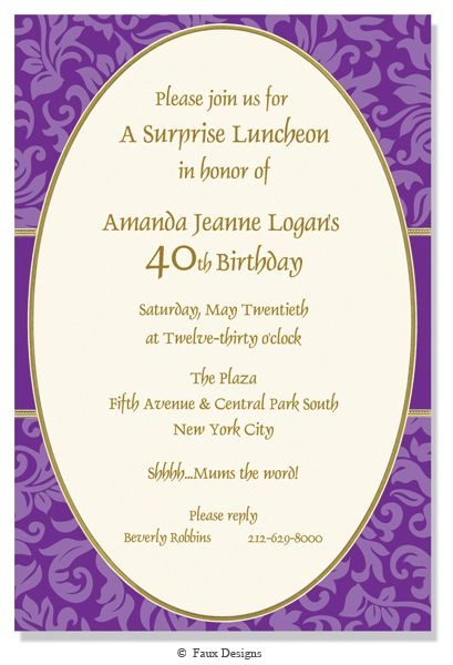 266 Best Images About Adult Birthday Party Invitations On