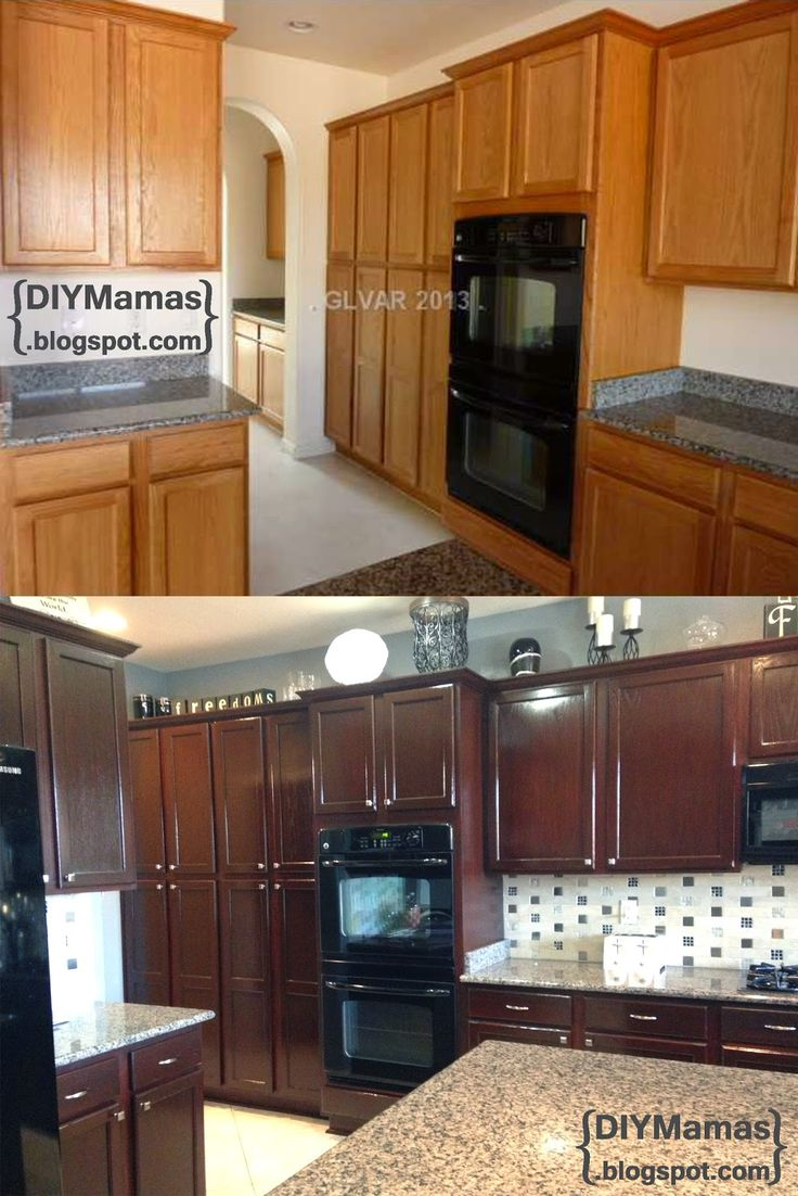 1000 Ideas About Staining Wood Cabinets On Pinterest