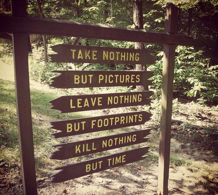 Image result for leave nothing but footprints