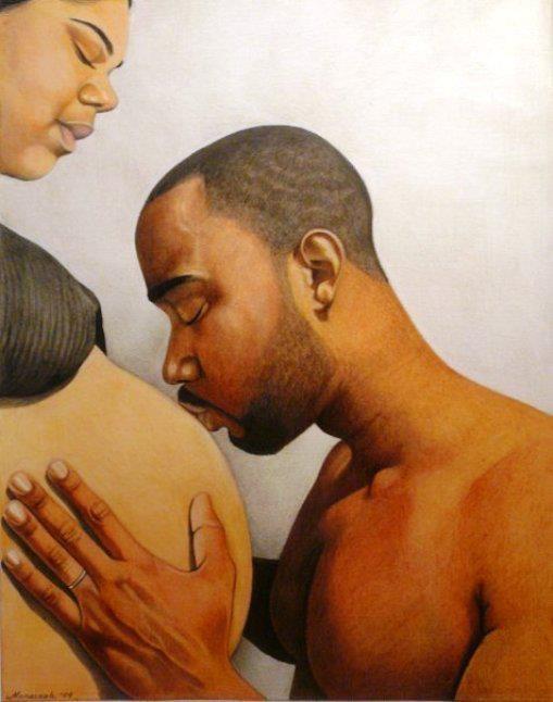 Cartoon Pregnant Woman When She Say