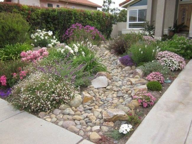 17 Best images about xeriscape designs on Pinterest ... on No Grass Garden Ideas  id=71767