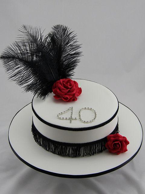 1920s Birthday Cake More Roaring Twenties Cake And