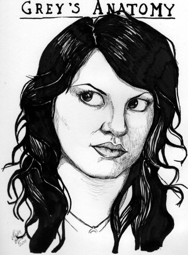 Grey's Anatomy Cast Art Sketches | dr torres by ...