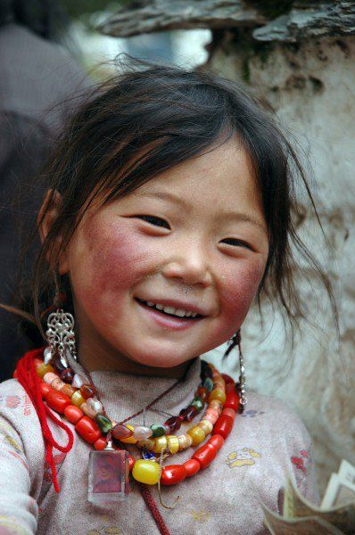 Smile for me! Tibetan Child