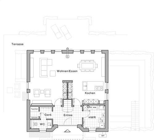 Grundriss Erdgeschoss Plusenergiehaus Life Von Viebrockhaus Designed By Jette Joop House