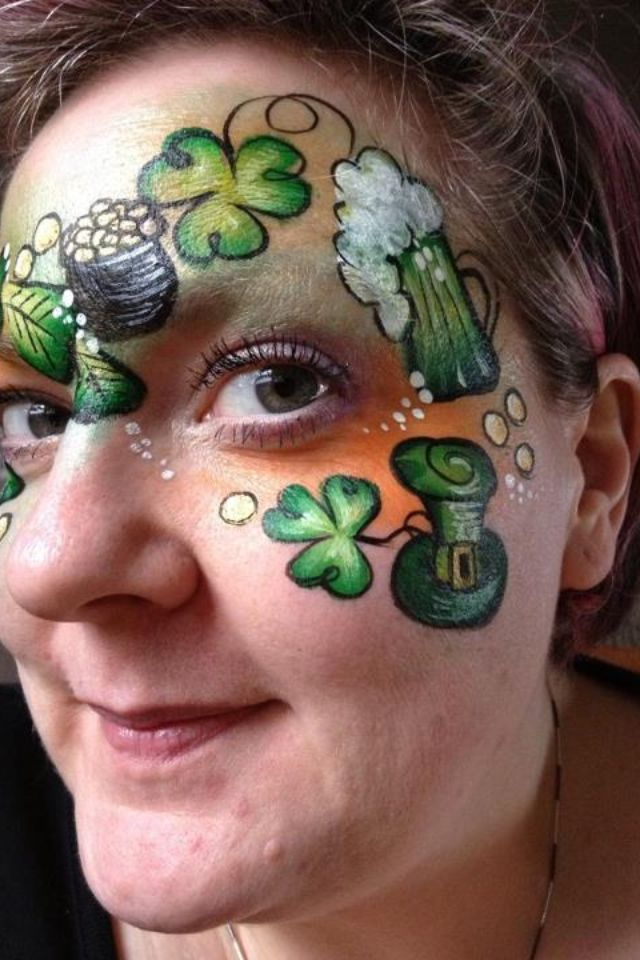 1000 Images About Face Painting Valentine Amp St Patricks