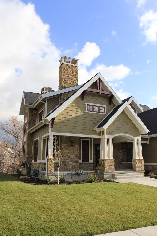 side exterior traditional exterior salt lake city on lake house color schemes id=57033