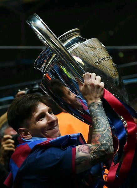 Messi gana la Uefa Champions Legue   Ney   Pinterest   Messi
