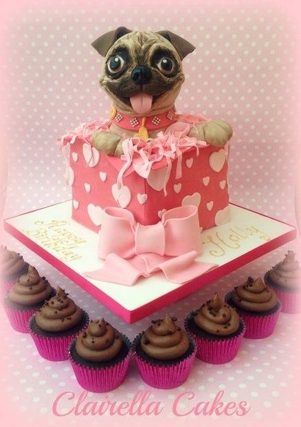 17 Best Ideas About Pug Cupcakes On Pinterest Puppy Dog