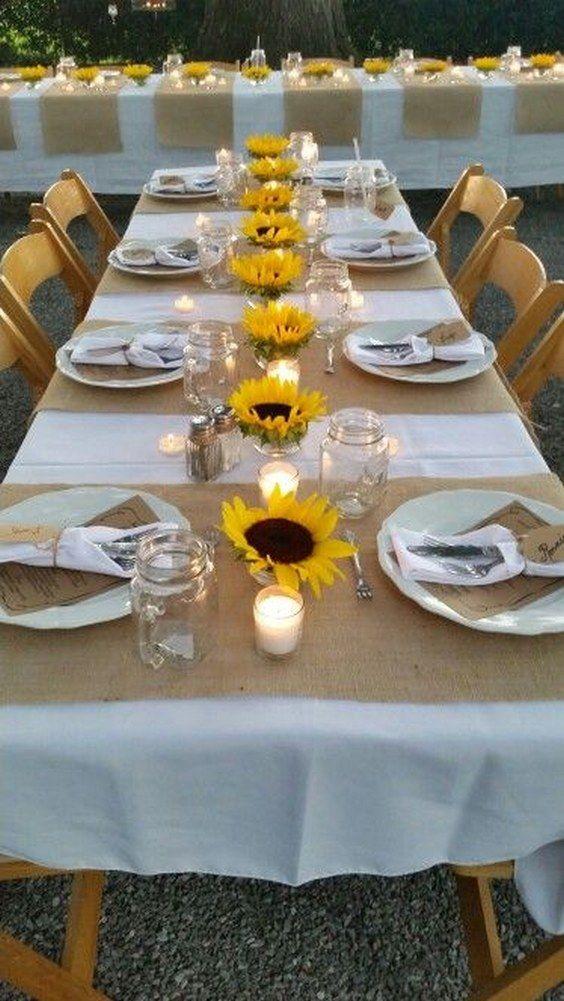 100 Bold Country Sunflower Wedding Ideas Sunflower Weddings And Sunflowers