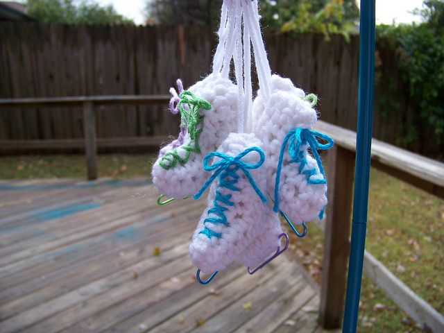 17 Best Images About Ice Skate Ornaments On Pinterest