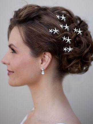 wedding hair clips or hair pins