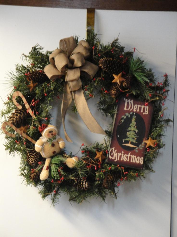 16 Best Images About Primitive Christmas On Pinterest