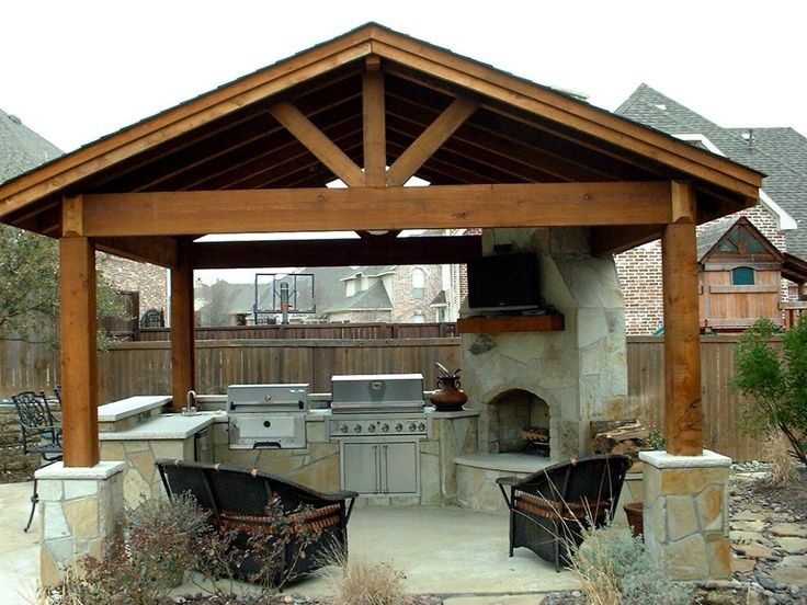 17 best images about ramadas patio structures on pinterest vinyls covered patios and pools on outdoor kitchen plans layout id=87192