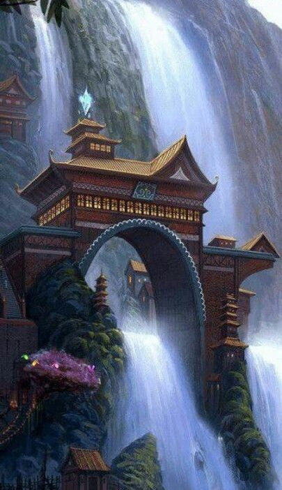 Shifen Waterfall , Taiwan: