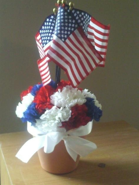 Memorial Day Centerpiece Craft Ideas Pinterest