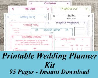 Ultimate Wedding Planner Over 75 Organizational