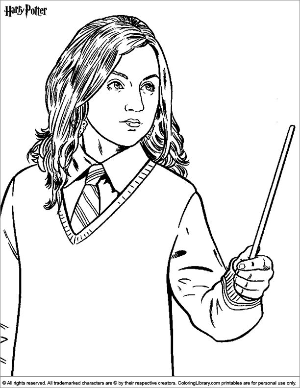 131 best images about harry potter coloring pages on
