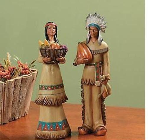THANKSGIVING INDIAN COUPLE THANKSGIVINGVETERANS DAY