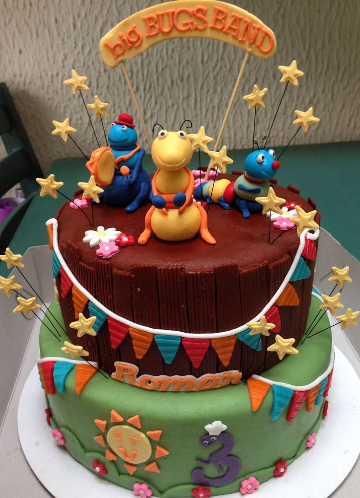 Big Bugs Band Cake Cake S By Me Pinterest Band And Cakes