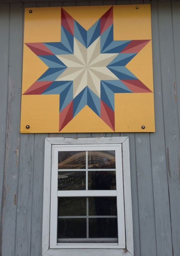 17 Best images about Hand Painted Barn Quilts on Pinterest ...