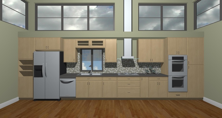 Straight Line Kitchen Layout Hmmm Dream Space