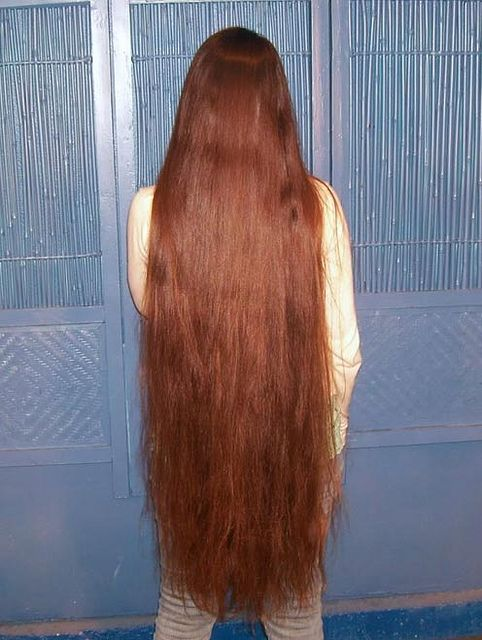 Gorgeous Knee Length Hair Long Hair Pinterest Long