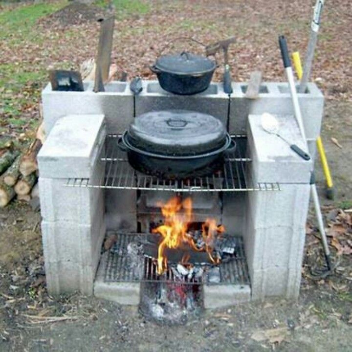 Outdoor Fireplace – probably what it would look like if I managed the project