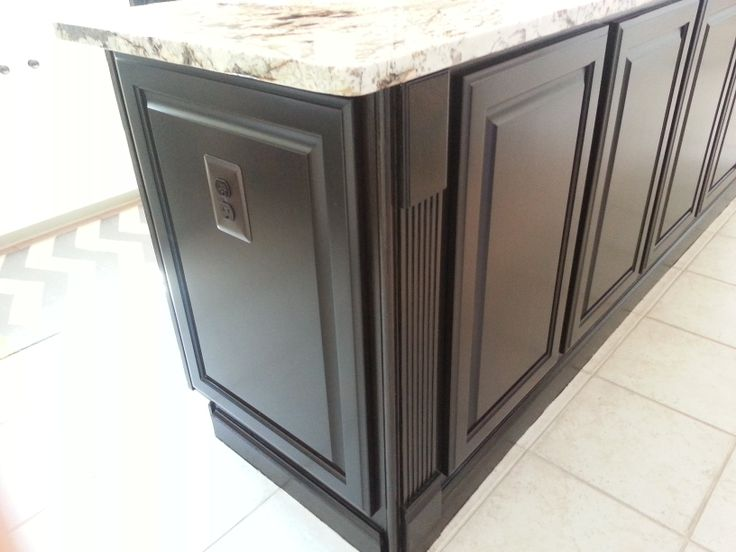 From Builders Grade Golden Oak Cabinets To A Kitchen With