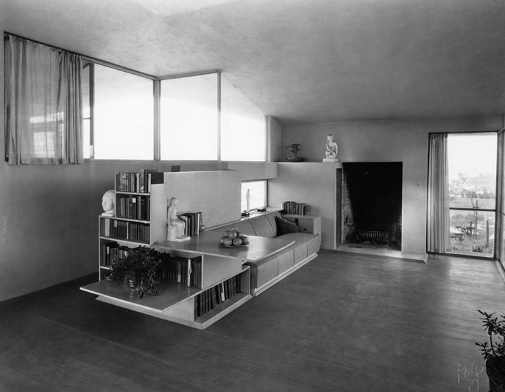 The Oliver House Rudolph Schindler 1934 Los Angeles