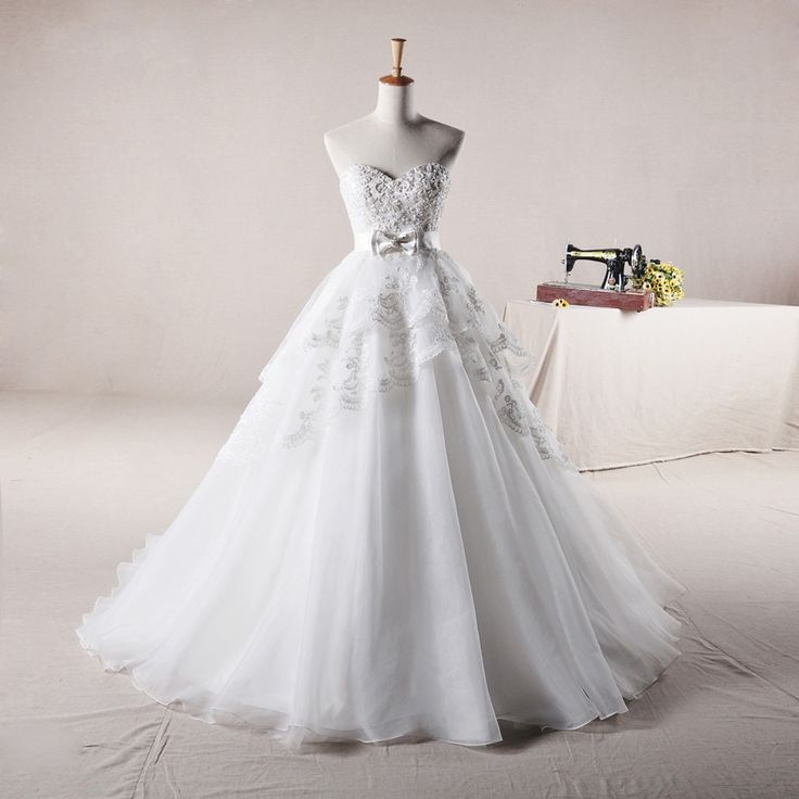 Sweetheart Ball Gown Tulle wedding dress…if we renew our vows