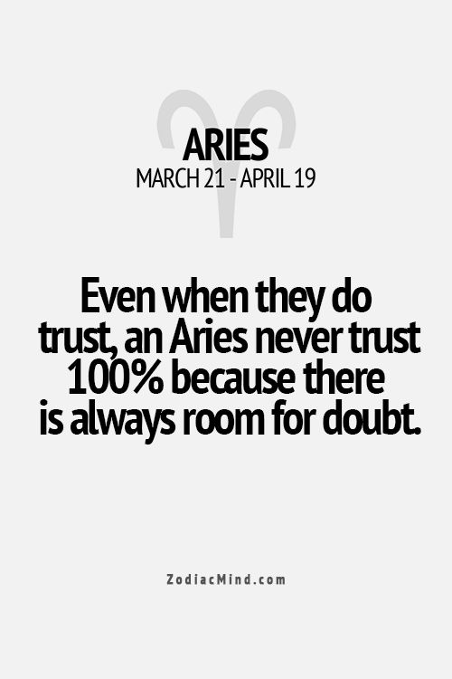 Even when they do trust, an