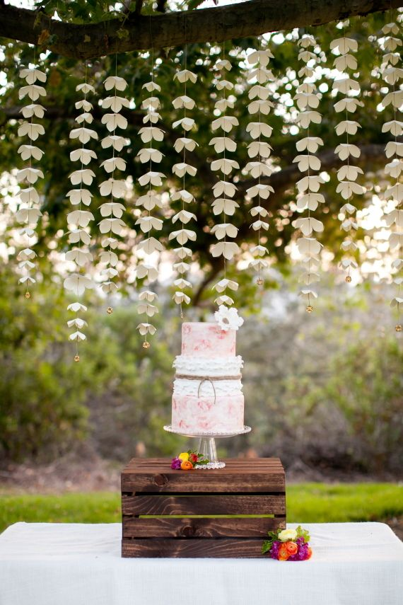 Summer garden bridal shower ideas | photos by Love Janet  | 100 Layer Cake